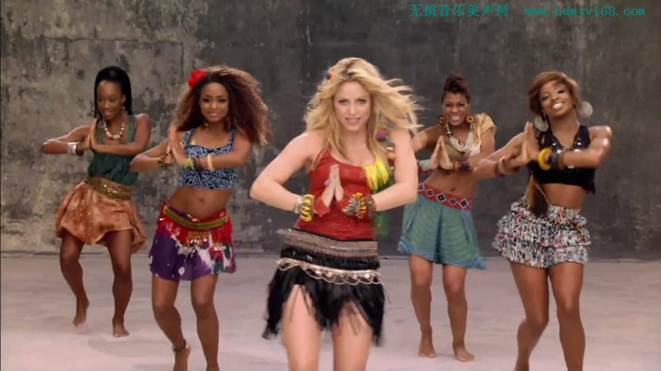 南非世界杯主题曲女_夏奇拉(Shakira) 南非世界杯主题曲MV Waka Waka-[265M.mkv-1080P] - 无损 ...